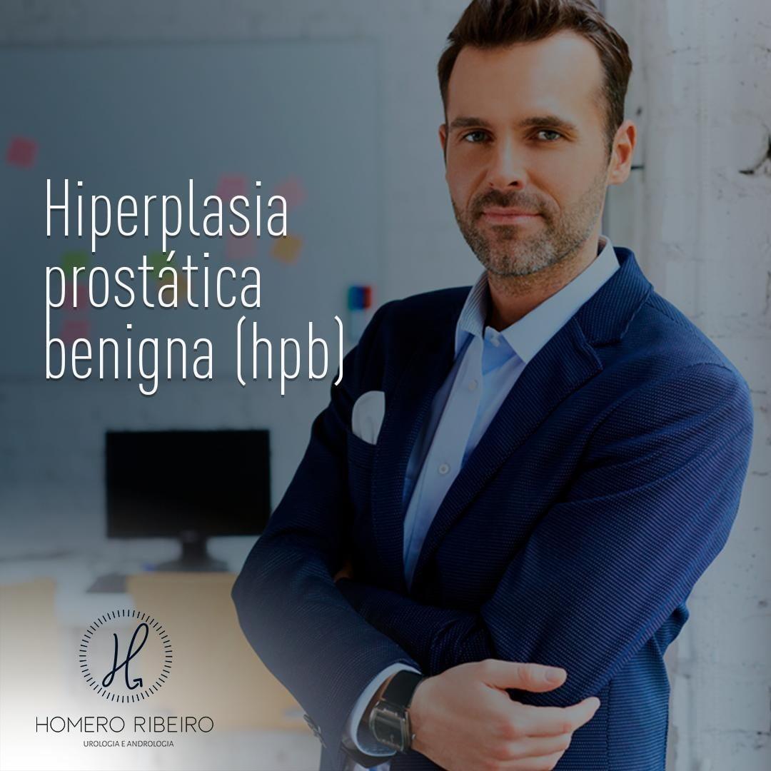 É um problema ligado ao envelhecimento masculino.A HPB é o aumento benigno da próstata, e em mu…