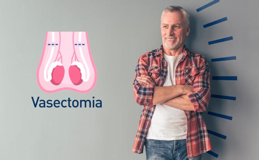 Homem faz cirurgia de vasectomia para evitar ejaculação